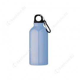 Бутылка для питья, 400 мл, светло-синяя