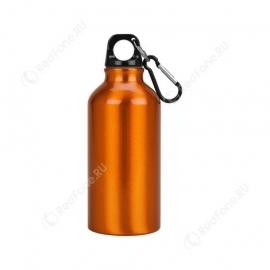Бутылка для питья, 400 мл, оранжевая