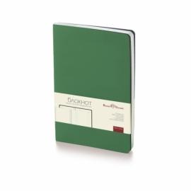 Блокнот А5 «Megapolis Flex» soft-touch, темно-зеленый