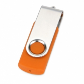 Флеш-карта USB 2.0 16 Gb «Квебек», оранжевый