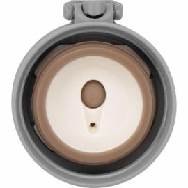 Вакуумная термокружка «Хот» 470мл, черный/серый