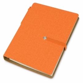 """Набор стикеров """"Write and stick"""" с ручкой и блокнотом, оранжевый"""