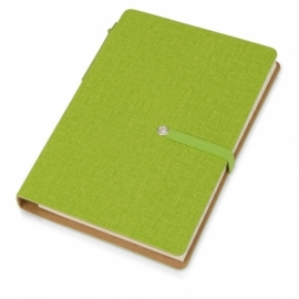 """Набор стикеров """"Write and stick"""" с ручкой и блокнотом, зеленое яблоко"""