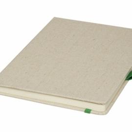 Блокнот Luna A5 Canvas, зеленый