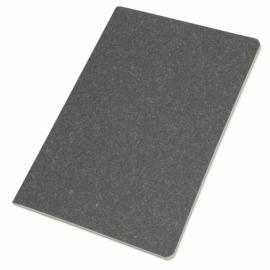 Блокнот А5 «Snow» из переработанного картона, серый