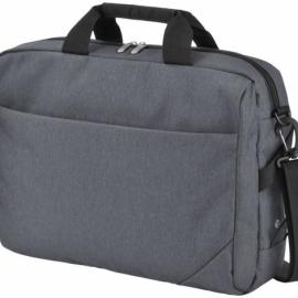 """Конференц-сумка """"Navigator"""" для ноутбука 14"""", серый/черный"""