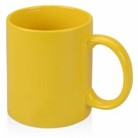 Кружка цветная 320мл, желтый