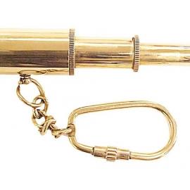 Брелок – подзорная труба, золотистый