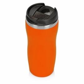 "Термокружка ""Mony Steel"" 350 мл, soft touch, оранжевый"