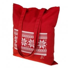 Новогодняя сумка, красная