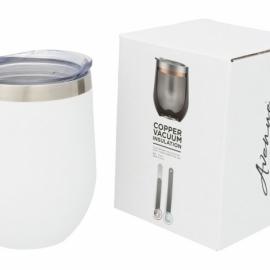 Кубок с вакуумной изоляцией Corzo Copper, белый