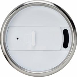 Термостакан Elwood c изоляцией, серебристый/белый