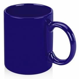 Кружка цветная 320мл, ярко-синий