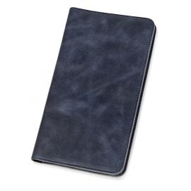 Трэвел-портмоне «Druid» с отделением на молнии, темно-синий