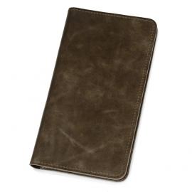 Трэвел-портмоне «Druid» с отделением на молнии, коричневый