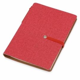 """Набор стикеров """"Write and stick"""" с ручкой и блокнотом, красный"""