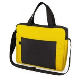 """Конференц сумка для документов """"Congress"""", желтый/черный"""