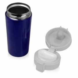 Герметичная термокружка «Trigger» 380мл, синий