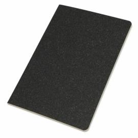 Блокнот А5 «Snow» из переработанного картона, черный