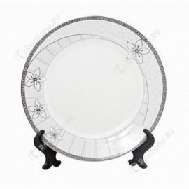 """Печать на тарелке 2D """"Бутон"""" D 200 мм"""