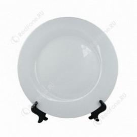 """Печать на тарелке 2D """"Белая"""" D20см"""