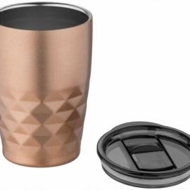 Кружка Geo с вакуумной изоляцией, медный/черный