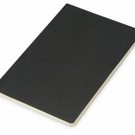 Блокнот «Wispy» линованный в мягкой обложке, черный