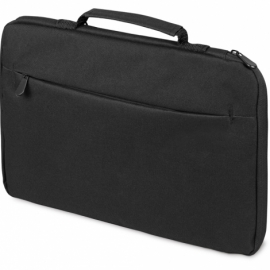 Сумка для ноутбука 13'' Flank с боковой молнией, черный