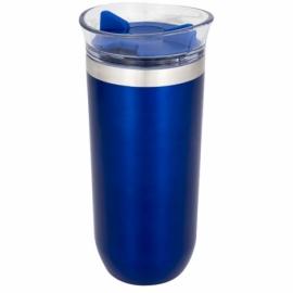 Вакуумный стакан «Twist», синий