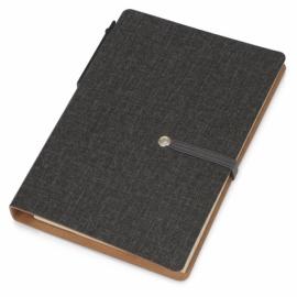 """Набор стикеров """"Write and stick"""" с ручкой и блокнотом, черный"""
