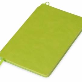 Блокнот «Notepeno» 130x205 мм с тонированными линованными страницами, зеленое яблоко