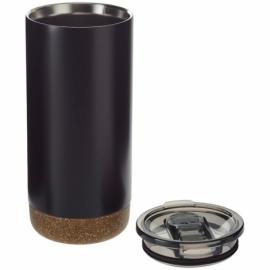 Вакуумная термокружка Valhalla с медным покрытием, черный