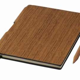 Блокнот Bardi A5, коричневый