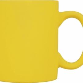 "Кружка ""Soft-touch"", желтый"