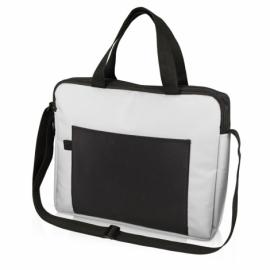 """Конференц сумка для документов """"Congress"""", белый/черный"""