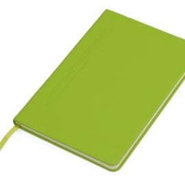 """Блокнот А5 """"Magnet"""" 14,3*21 с магнитным держателем для ручки, зеленое яблоко"""