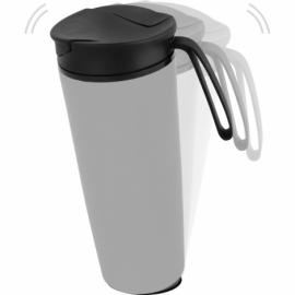 Термокружка «Годс» 470мл на присоске, серый