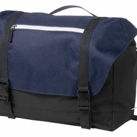 """Сумка """"Oakland"""" для ноутбука 15,6"""", черный/темно-синий"""