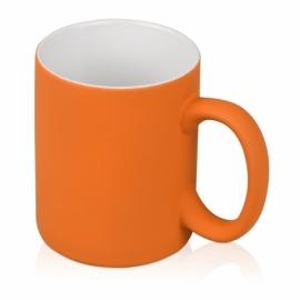 """Кружка """"Soft-touch"""", оранжевый"""