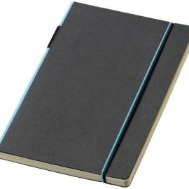 """Блокнот А5 """"Cuppia"""", черный/светло-синий"""