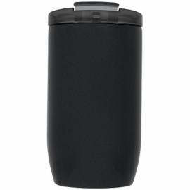 Герметичный термос Lagom 380 мл с медной вакуумной изоляцией, черный