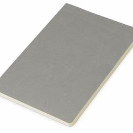 Блокнот «Wispy» линованный в мягкой обложке, серый