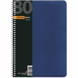 """Бизнес - блокнот А4 (200 х 288 мм) """"Офис-Лайн"""" 80 л., синий"""