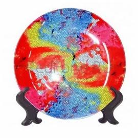 """Печать на тарелке 3D """"Премиум"""" d=254мм"""