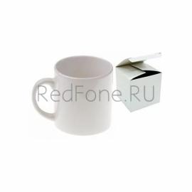 Кружка кофейная белая h=7 cm, d=7 cm, 180 мл