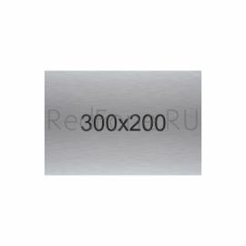 Табличка металлическая 300x200 мм
